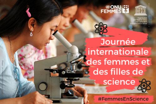 Journée Internationales des Femmes et Filles de Science