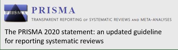PRISMA 2020 statement